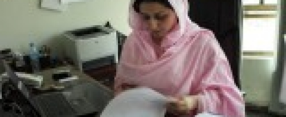Hasina Safi-Director of the Afghanistan Women's Education Centre