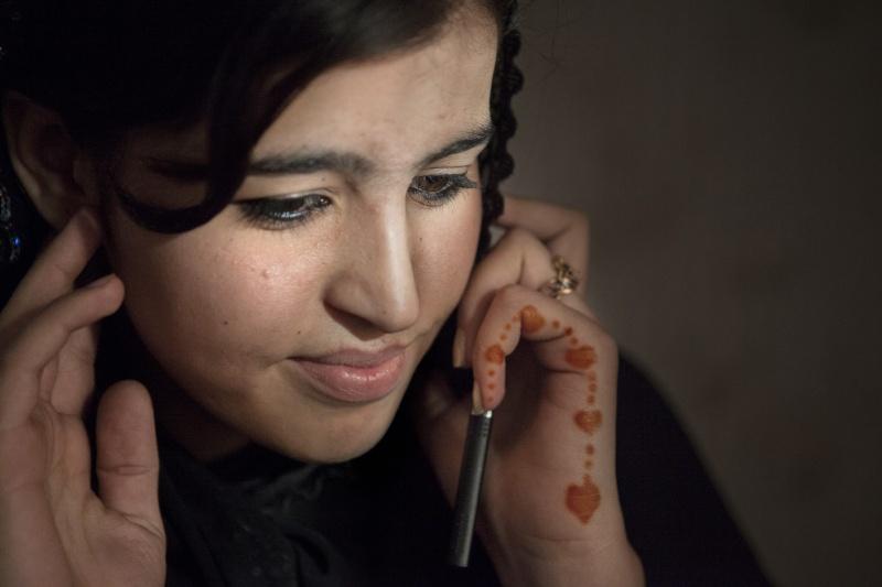 Farkhunda Arezo ist 21 Jahre alt und studiert Sprachwissenschaften in Kabul.