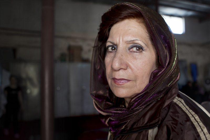 Parvin Sufi ist auch die trainerin der Volleyball Damen-Nationalmannschaft. Sie lebt in Kabul und hat drei Kinder.