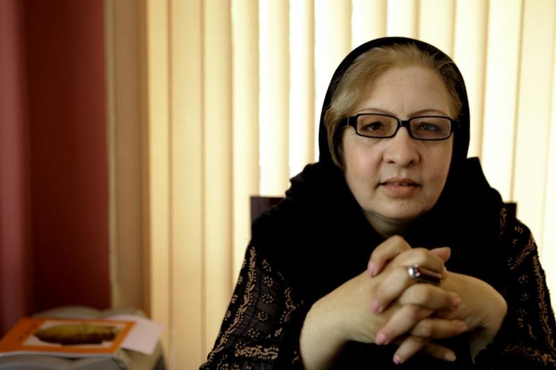 """""""Fortschritt ist eine natürliche Entwicklung für die Menschheit, aber nicht für die Frauen in Afghanistan."""